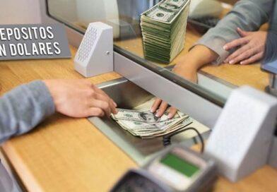 Tras el cepo, se retiraron 750 millones de dólares de depósitos en los bancos