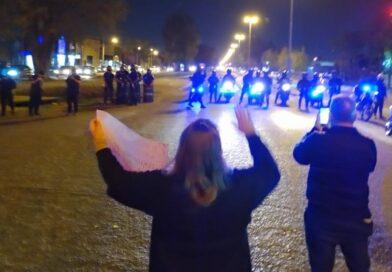 La protesta por la inseguridad atrajo más policías que una llamada al 911