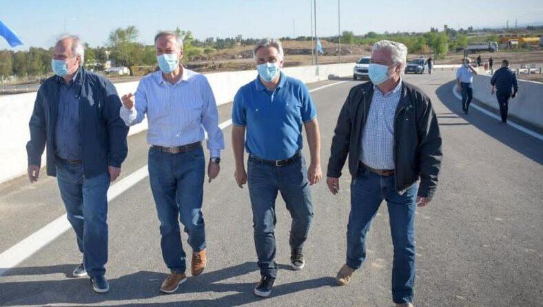 Nuevo distribuidor de tránsito entre la usina Bazán y la Ruta 20